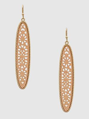 long drop earring