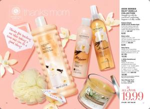 Avon Senses Silky Vanilla Collection