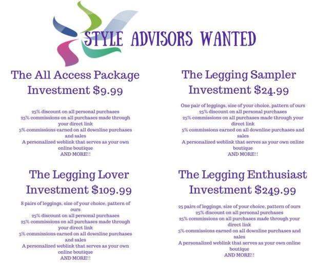 advisor packages