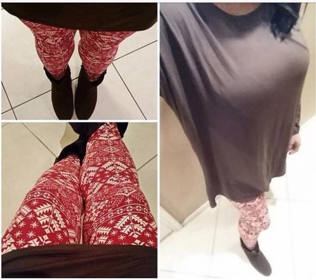 OOTD Festive Leggings Look