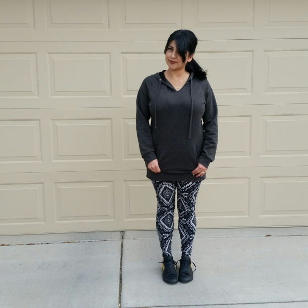 1 Pair of Leggings, 3 Outfits