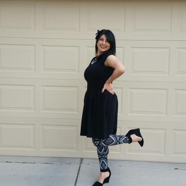 1 Pair of Leggings, 3 Outfits
